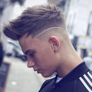 Corte de pelo gratis de hombre.