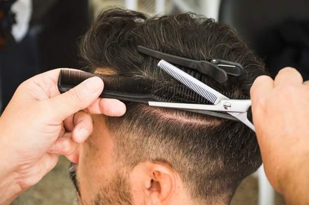 Academia de peluquería de caballeros en Madrid.